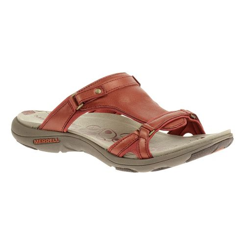 Womens Merrell Glade 2 Lavish Sandals Shoe - Red Ochre 5