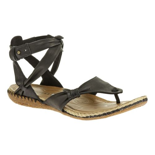 Womens Merrell Whisper Bandeau Sandals Shoe - Black 7