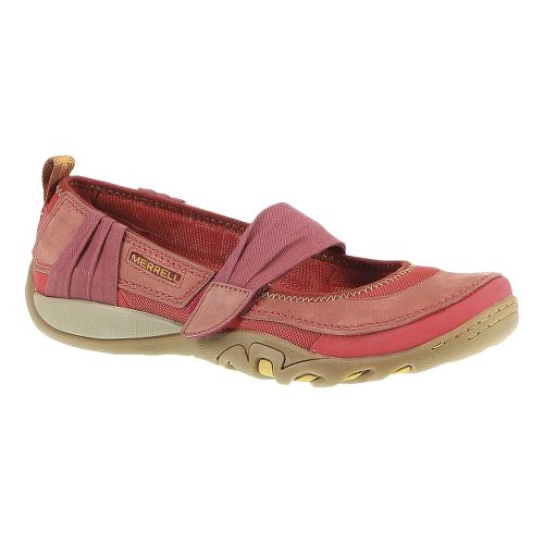Womens Merrell Mimosa Fizz Mj Sandals Shoe - Red Ochre 9
