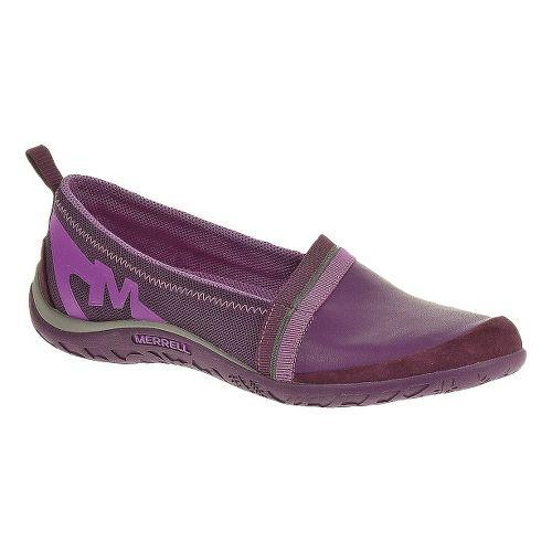 Womens Merrell Enlighten Awake Casual Shoe - Dark Purple 5
