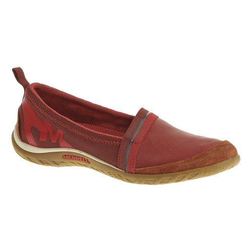 Womens Merrell Enlighten Awake Casual Shoe - Red Ochre 10.5