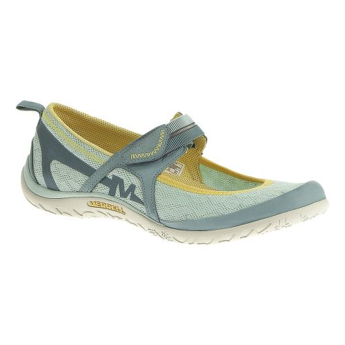 Womens Merrell Enlighten Eluma Breeze Casual Shoe - Egshell Blue 9
