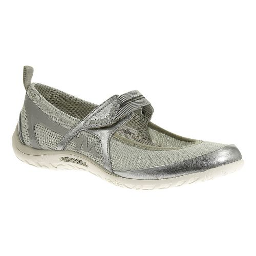 Womens Merrell Enlighten Eluma Breeze Casual Shoe - Silver 5.5