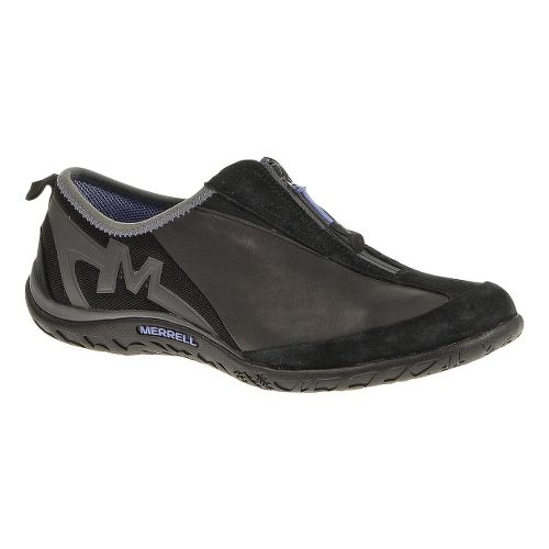 Womens Merrell Enlighten Glitz Breeze Casual Shoe - Black/Black 10.5