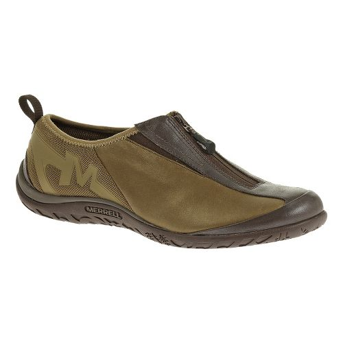 Womens Merrell Enlighten Glitz Breeze Casual Shoe - Brown/Gold 9.5