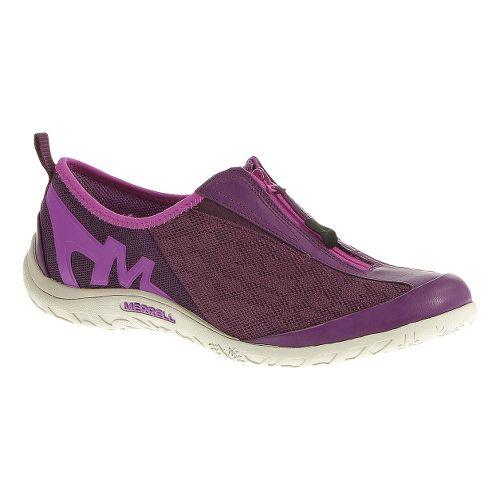 Womens Merrell Enlighten Glitz Breeze Casual Shoe - Dark Purple 7