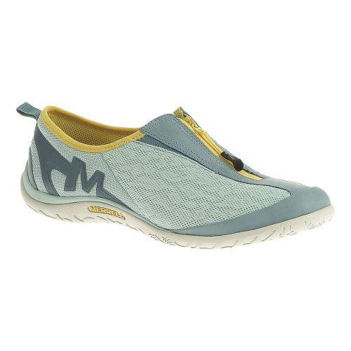 Womens Merrell Enlighten Glitz Breeze Casual Shoe - Eggshell Blue 10