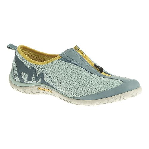 Womens Merrell Enlighten Glitz Breeze Casual Shoe - Eggshell Blue 8.5