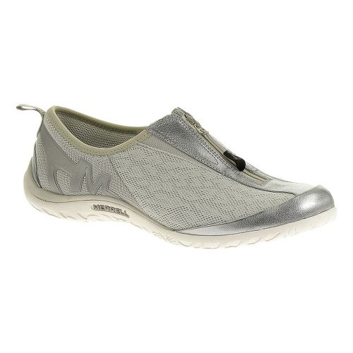 Womens Merrell Enlighten Glitz Breeze Casual Shoe - Silver 7.5