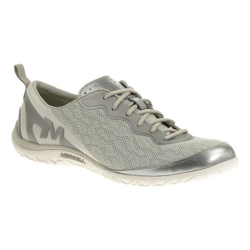 Womens Merrell Enlighten Shine Breeze Casual Shoe - Silver 10.5
