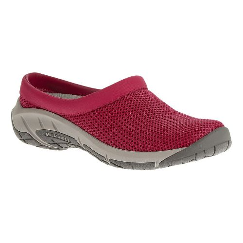 Womens Merrell Encore Breeze 3 Casual Shoe - Rose Red 6.5