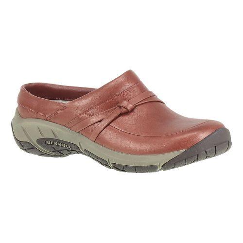 Womens Merrell Encore Tangle Lavish Slide Casual Shoe - Red Ochre 9.5