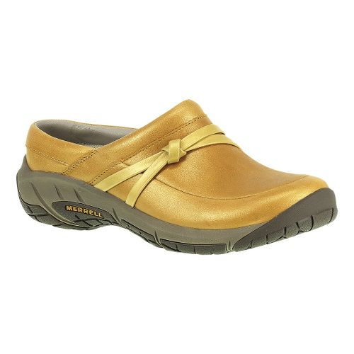 Womens Merrell Encore Tangle Lavish Slide Casual Shoe - Spruce Yellow 8.5