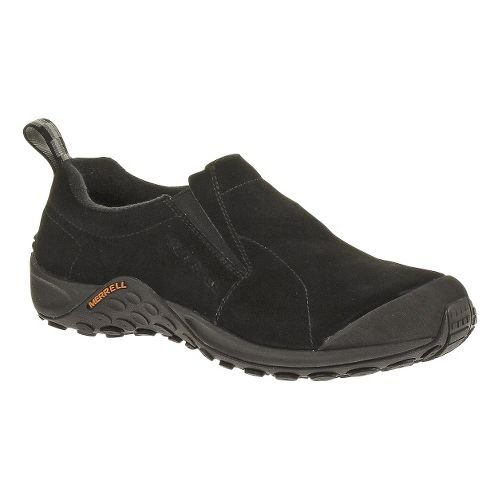 Womens Merrell Jungle Moc Touch Casual Shoe - Black 10.5