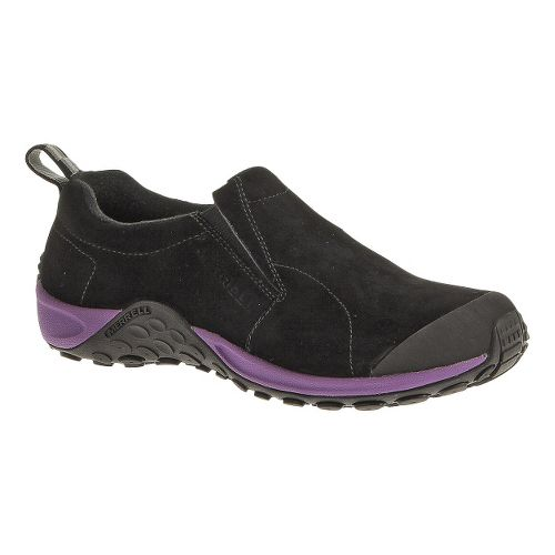 Womens Merrell Jungle Moc Touch Casual Shoe - Black/Dewberry 9.5