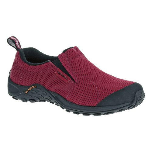 Womens Merrell Jungle Moc Touch Breeze Casual Shoe - Rose Red 6.5
