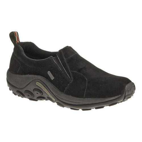 Womens Merrell Jungle Moc Waterproof Casual Shoe - Black 10.5