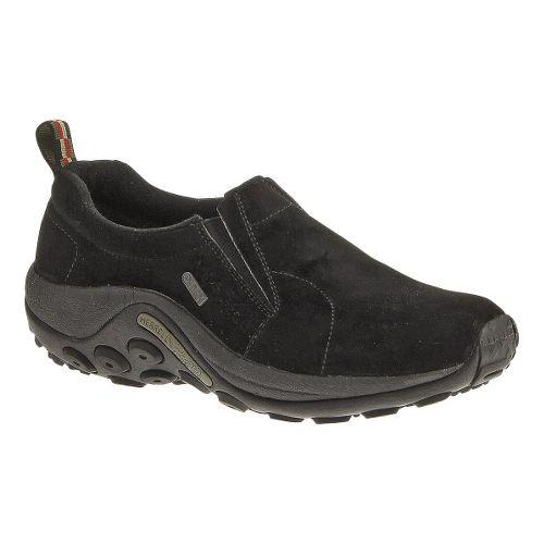 Womens Merrell Jungle Moc Waterproof Casual Shoe - Black 8.5