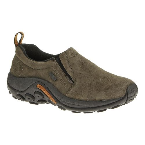 Womens Merrell Jungle Moc Waterproof Casual Shoe - Gunsmoke 10