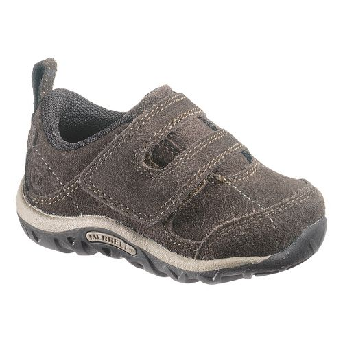 Kids Merrell Jungle Moc Dual Strap Junior Casual Shoe - Espresso 9
