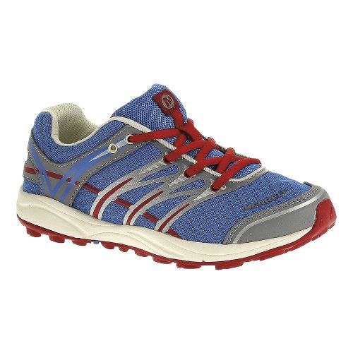 Kids Merrell Mix Master Jam Trail Running Shoe - Brilliant Blue 6Y