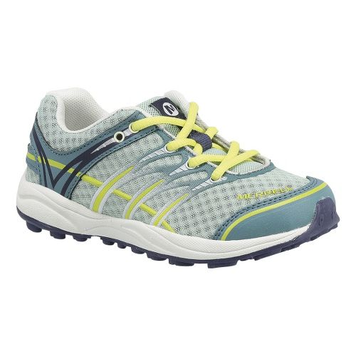 Kids Merrell Mix Master Jam Trail Running Shoe - Brittany Blue 6.5