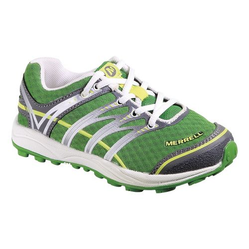 Kids Merrell Mix Master Jam Trail Running Shoe - Online Lime 10.5
