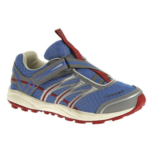 Kids Merrell Mix Master Jam Z-Rap Trail Running Shoe - Brilliant Blue 10
