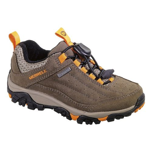 Kids Merrell Tailspin Toggle Waterproof Hiking Shoe - Gunsmoke 7