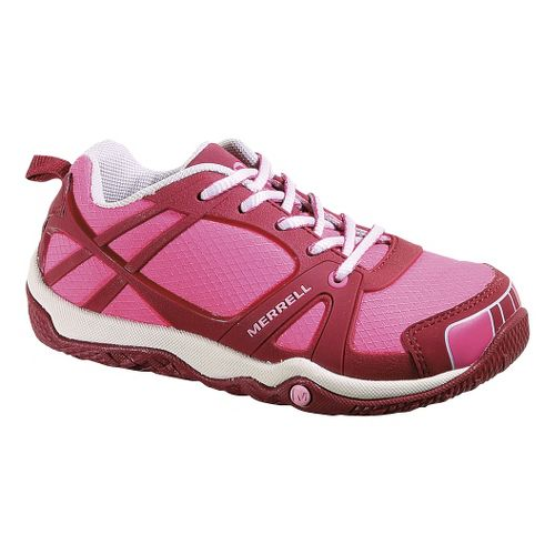 Kids Merrell Proterra Sport Trail Running Shoe - Ruby Wine 2