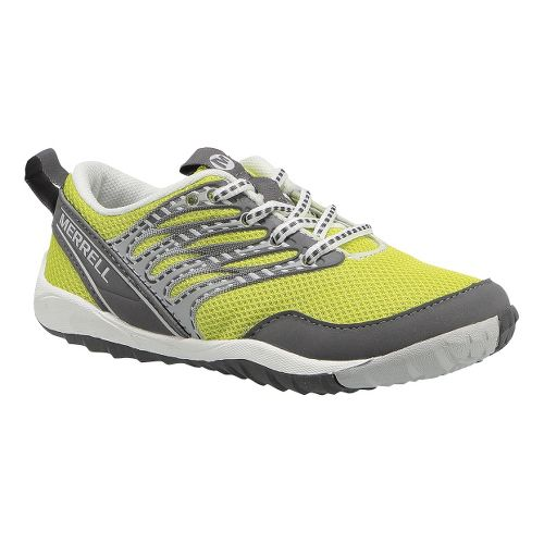 Kids Merrell Trail Glove Lace 2.0 Trail Running Shoe - High Viz 4