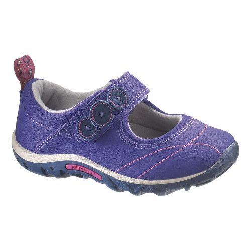 Kids Merrell Jungle Moc Burst 2 Casual Shoe - Blue Iris 10