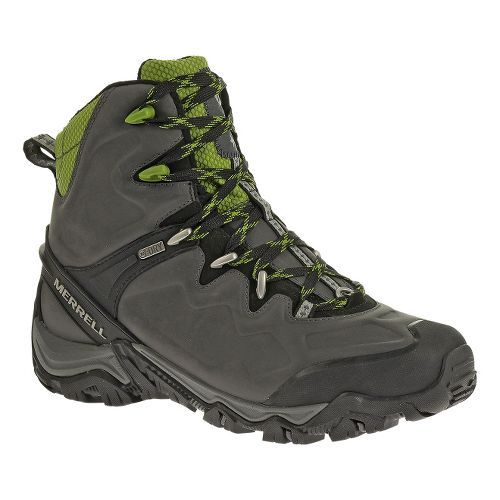 Mens Merrell Polarand 8 Waterproof Hiking Shoe - Granite 9