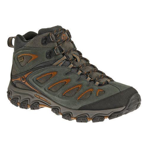 Mens Merrell Pulsate Storm Mid Waterproof Hiking Shoe - Granite 7
