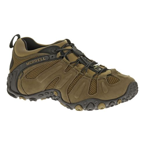 Mens Merrell Chameleon Prime Stretch Waterproof Hiking Shoe - Canteen 10.5