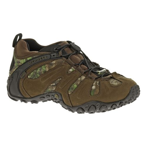 Mens Merrell Chameleon Prime Stretch Waterproof Hiking Shoe - Real Tree Xtra 10.5