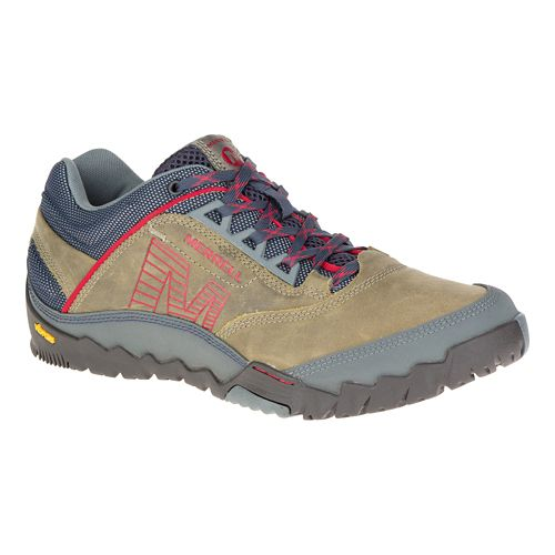 Mens Merrell Annex Hiking Shoe - Light Beige 10.5