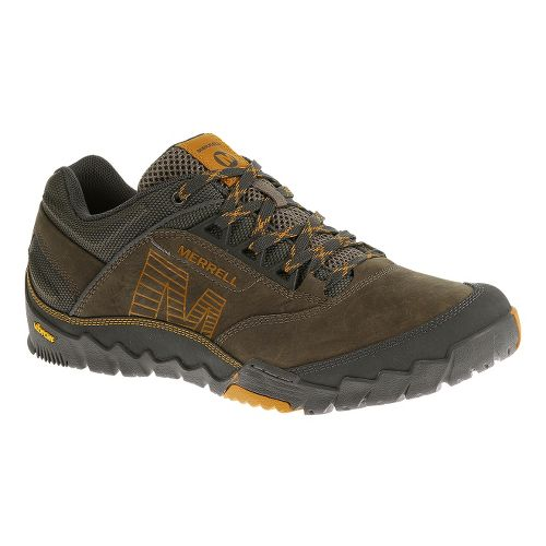 Mens Merrell Annex Hiking Shoe - Merrell Stone 10