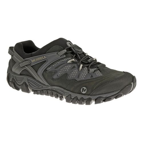 Mens Merrell AllOut Blaze Stretch Hiking Shoe - Black 10.5