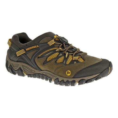 Mens Merrell AllOut Blaze Stretch Hiking Shoe - Canteen 10.5