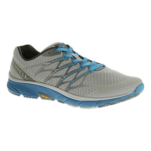 Mens Merrell Bare Access Ultra Running Shoe - Light Grey 10