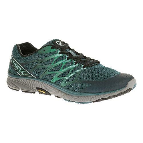 Mens Merrell Bare Access Ultra Running Shoe - Sea Blue 13