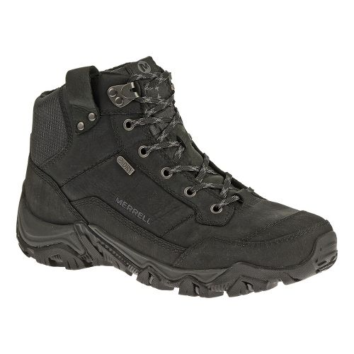 Mens Merrell Polarand Rove Waterproof Hiking Shoe - Black 7.5