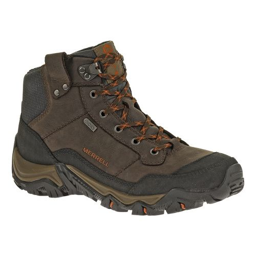 Mens Merrell Polarand Rove Waterproof Hiking Shoe - Black Slate 7