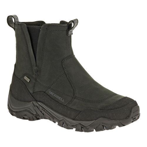Mens Merrell Polarand Rove Pull Waterproof Hiking Shoe - Black 7.5