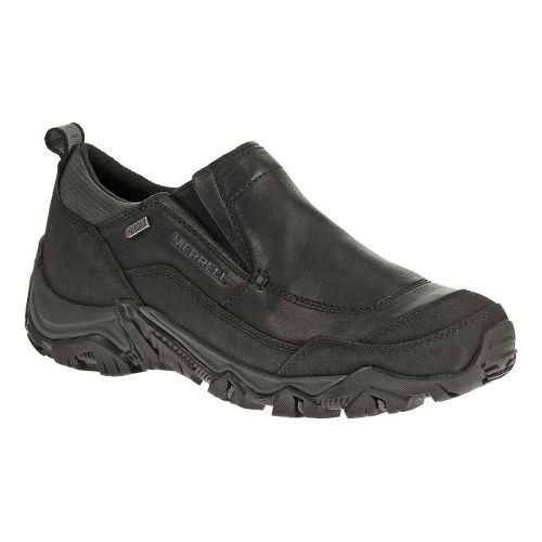 Mens Merrell Polarand Rove Moc Waterproof Hiking Shoe - Black 8.5