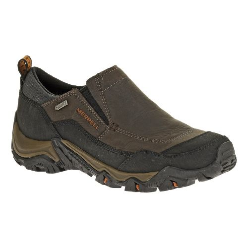 Mens Merrell Polarand Rove Moc Waterproof Hiking Shoe - Black Slate 7