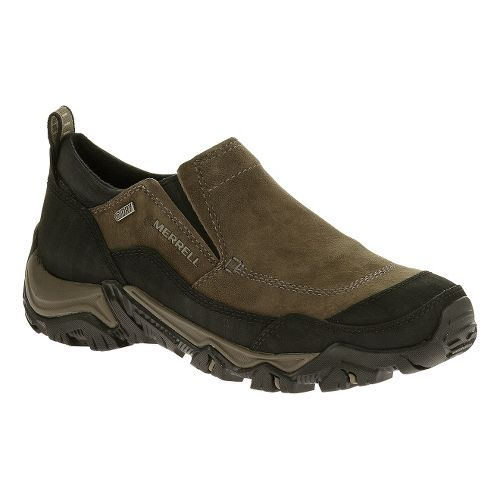 Mens Merrell Polarand Rove Moc Waterproof Hiking Shoe - Gunsmoke 9