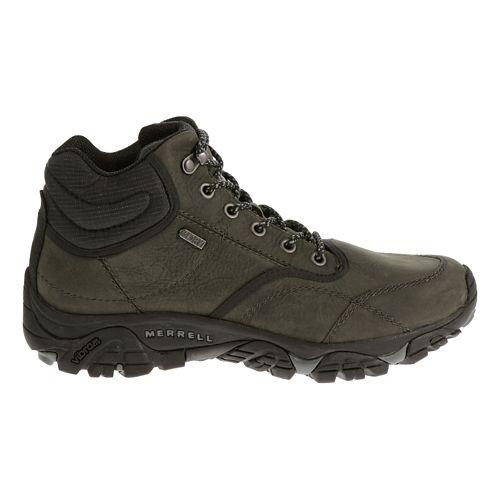 Mens Merrell Moab Rover Mid Waterproof Hiking Shoe - Castle Rock 10