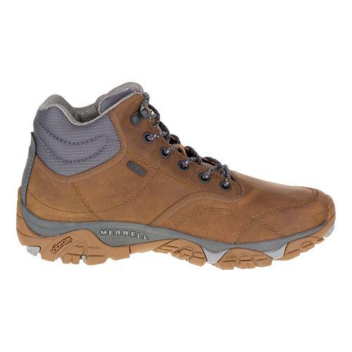 Mens Merrell Moab Rover Mid Waterproof Hiking Shoe - Tan 11.5